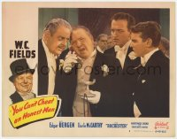 4a993 YOU CAN'T CHEAT AN HONEST MAN LC #8 R1949 Thurston Hallmen listens to phone with W.C. Fields!