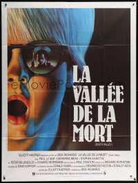 4b814 DEATH VALLEY French 1p 1982 Paul Le Mat, Catherine Hicks, cool horror artwork!