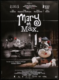 4b895 MARY & MAX French 1p 2009 cool Australian claymation, an unlikely friendship story!