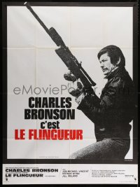 4b898 MECHANIC French 1p 1973 great image of Charles Bronson with snipe rifle, Michael Winner