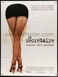 4b945 SECRETARY French 1p 2003 Maggie Gyllenhaal, Steven Shainberg, different sexy legs image!