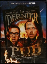 4b995 WORLD'S END teaser French 1p 2012 Simon Pegg, Nick Frost, prepare to get annihilated!