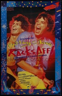 4b163 LET'S SPEND THE NIGHT TOGETHER German 30x47 1983 c/u of Mick Jagger of The Rolling Stones!