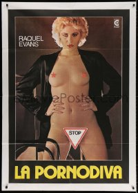4b253 JILL Italian 1p 1979 sexiest naked Raquel Evans in the title role!