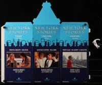 4b034 NEW YORK STORIES video 24x25 mobile 1989 Woody Allen, Martin Scorsese, Francis Ford Coppola