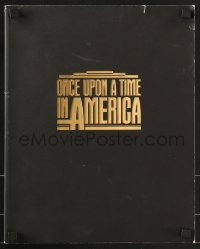 4b027 ONCE UPON A TIME IN AMERICA souvenir program book 1984 Robert De Niro, Sergio Leone!