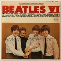 4b108 BEATLES record 1965 Beatles VI, the world's most popular foursome, John Paul George Ringo!