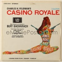 4b111 CASINO ROYALE soundtrack record 1967 music from the movie composed by Burt Bacharach!