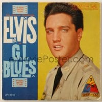 4b115 G.I. BLUES soundtrack record 1960 swing out and sound off with Elvis Presley & sexy Juliet Prowse!