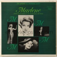 4b119 MARLENE DIETRICH record 1964 Songs in Germany by the Inimitable Dietrich!