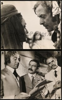 4b103 MAN WHO WOULD BE KING 5 English 12x16 stills 1975 special portfolio about the upcoming movie!