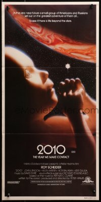 4c300 2010 Aust daybill 1984 sequel to 2001: A Space Odyssey, image of the starchild & Jupiter!