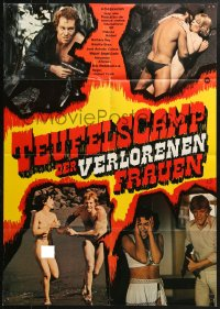 4c249 TERRIFYING CONFESSIONS OF CAPTIVE WOMEN German 1977 raging jungle of lust!