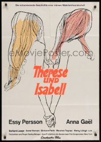 4c250 THERESE & ISABELLE German 1968 Radley Metzger, lesbians Essy Persson & Anna Gael!