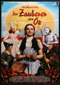 4c258 WIZARD OF OZ German R2006 Victor Fleming, Judy Garland all-time classic!