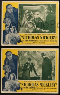 4c005 NICHOLAS NICKLEBY 4 Aust LCs 1948 Sir Cedric Hardwicke, from Charles Dickens novel, rare!