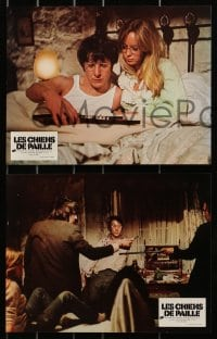 4c004 STRAW DOGS 9 style B French LCs 1972 Dustin Hoffman, Susan George, directed by Sam Peckinpah!
