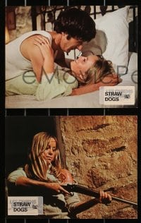 4c003 STRAW DOGS 9 style A French LCs 1972 Dustin Hoffman, Susan George, directed by Sam Peckinpah!