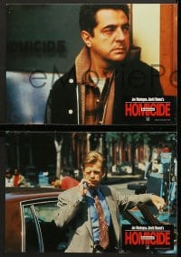 4c010 HOMICIDE 8 German LCs 1991 David Mamet, Joe Mantegna & William H. Macy!