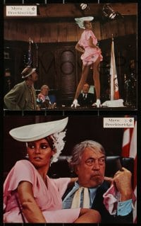 4c011 MYRA BRECKINRIDGE 16 German LCs 1970 Mae West, sexiest Raquel Welch, John Huston, Rex Reed!