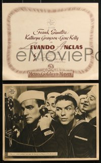 4c014 ANCHORS AWEIGH 13 Spanish LCs 1948 sailors Frank Sinatra & Gene Kelly with Kathryn Grayson!