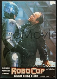4c030 ROBOCOP 10 Spanish LCs 1987 Paul Verhoeven, Peter Weller is part man, part machine, all cop!