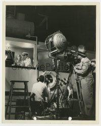 4d080 8 BELLS candid 8x10 still 1935 director & crew filming Ann Sothern & Buckler by Ray Jones!