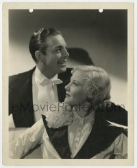 4d333 EVELYN PRENTICE deluxe 8x10 still 1934 Una Merkel & Henry Wadsworth portrait by Russell Ball!
