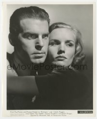4d334 EXCLUSIVE  8.25x10 still 1937 best close up of beautiful Frances Farmer & Fred MacMurray!