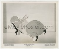 4d341 FANTASIA  8.25x10 still 1941 Hyacinth Hippo in the Dancing of the Hours segment, Walt Disney!