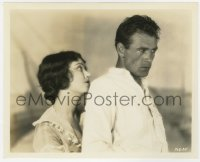 4d351 FIRST KISS  8x10 still 1928 best c/u of young Gary Cooper & beautiful Fay Wray by Richee!