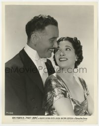 4d352 FIRST LADY  8x10.25 still 1937 romantic close up of pretty Kay Francis & Preston Foster!