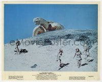 4d052 ONE MILLION YEARS B.C. color 8x10 still 1966 we didn't know they had gigantic turtles then!