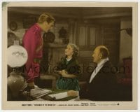 4d063 SUSANNAH OF THE MOUNTIES color 8x10 still 1939 Shirley Temple looks up at Randolph Scott!