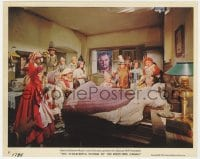 4d072 WONDERFUL WORLD OF THE BROTHERS GRIMM color 8x10 still #8 1962 Laurence Harvey & characters!