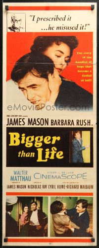 4f020 BIGGER THAN LIFE insert 1956 James Mason is prescribed Cortisone & becomes addicted!