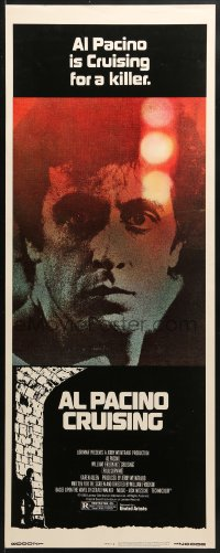 4f057 CRUISING insert 1980 William Friedkin, undercover cop Al Pacino pretends to be gay!