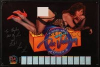 4g009 DOC JOHNSON signed calendar 1994 by model Lisa Ann Savage, incredibly sexy image!