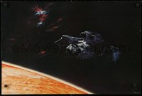 4g005 ALIEN color 20x30 still 1979 Ridley Scott outer space sci-fi monster classic, over planet!