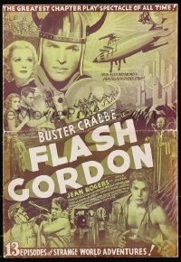 4j275 FLASH GORDON pressbook 1936 Buster Crabbe & Jean Rogers in the best serial ever, ultra rare!
