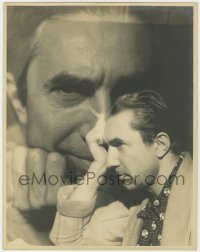 4k129 BELA LUGOSI deluxe 11x14 still 1940s incredible portrait montage with profile & head on images!