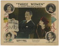4k192 3 WOMEN LC 1924 Cody shows newspaper & letter to Pauline Frederick, Ernst Lubitsch, rare!