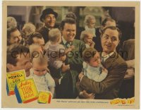 4k197 ANOTHER THIN MAN LC 1939 William Powell as Nick Charles has gangsters at his son's birthday!