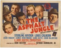 4k150 ASPHALT JUNGLE TC 1950 unbilled Marilyn Monroe, Sterling Hayden, John Huston classic noir!