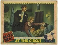 4k201 AT THE CIRCUS LC 1939 Groucho Marx as Loophole, the Legal Eagle, great Hirschfeld border art!
