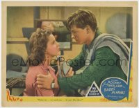 4k202 BABES IN ARMS LC 1939 Mickey Rooney tells Judy Garland they need her to save the show!