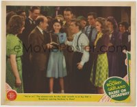 4k203 BABES ON BROADWAY LC 1941 Mickey Rooney, Judy Garland, Virginia Weidler, Donald Meek!