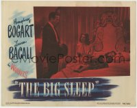 4k206 BIG SLEEP LC #6 1946 Humphrey Bogart with sexy Lauren Bacall & passed out Martha Vickers!