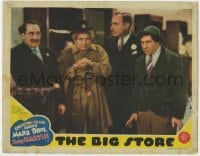 4k207 BIG STORE LC 1941 Groucho Marx as detective Wolf J. Flywheel, with Chico, Harpo & Dumbrille!