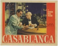 4k215 CASABLANCA LC 1942 S.Z. Sakall tends to Paul Henreid's wounds after the Resistance meeting!